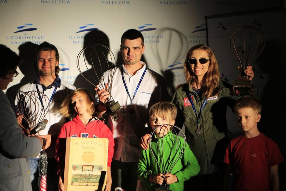 Beata Choma balonowym Wicemistrzem Polski 2013